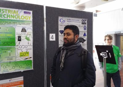 flitschlab_pictures Congratulations Syed Ahmed for your success in coming first in your Poster Presentation on Industrial Biotechnology 21st March 2016