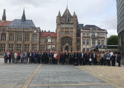 Group photo, Glycobiotechnology 2018, 3&4 Sep 2018, Manchester, UK