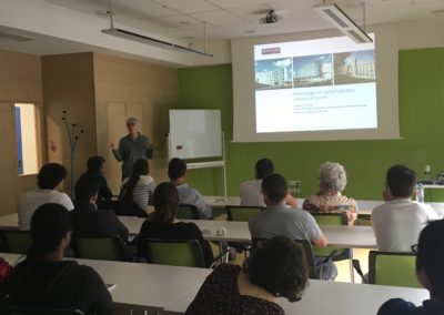 Lecture at CERMAV, Grenoble 31st May 2018