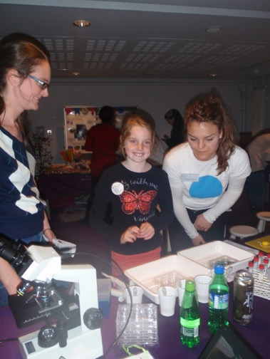 Glucose testing at The Science Spectacular
