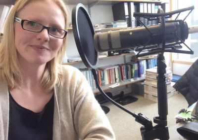 flitschlab_pictures An interesting morning recording the Glycoscience MOOC for Dr Hannah Roberts 23rd March 2016