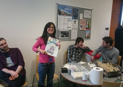 flitschlab_pictures Farewell to Juana Reyes-Martinez, who will be greatly missed 1st April 2016