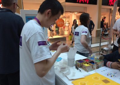 flitschlab_pictures Kun Huang doing an excellent sugar demonstration 23rd April 2016