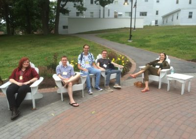flitschlab_pictures Members of the Flitsch Group enjoying their time at the GRC Biocatalysis conference, Univfersity of New England, Maine 10th - 15th July 2016