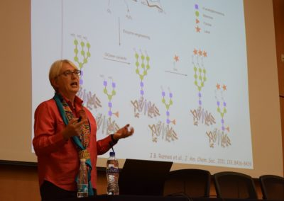 flitschlab_pictures-sabine-lecturing-at-the-society-of-latin-american-glycobiology-at-unidad-de-postgrad-unam-mexico-hosted-by-associate-professor-juana-reyez-martinez-4th-october-2016